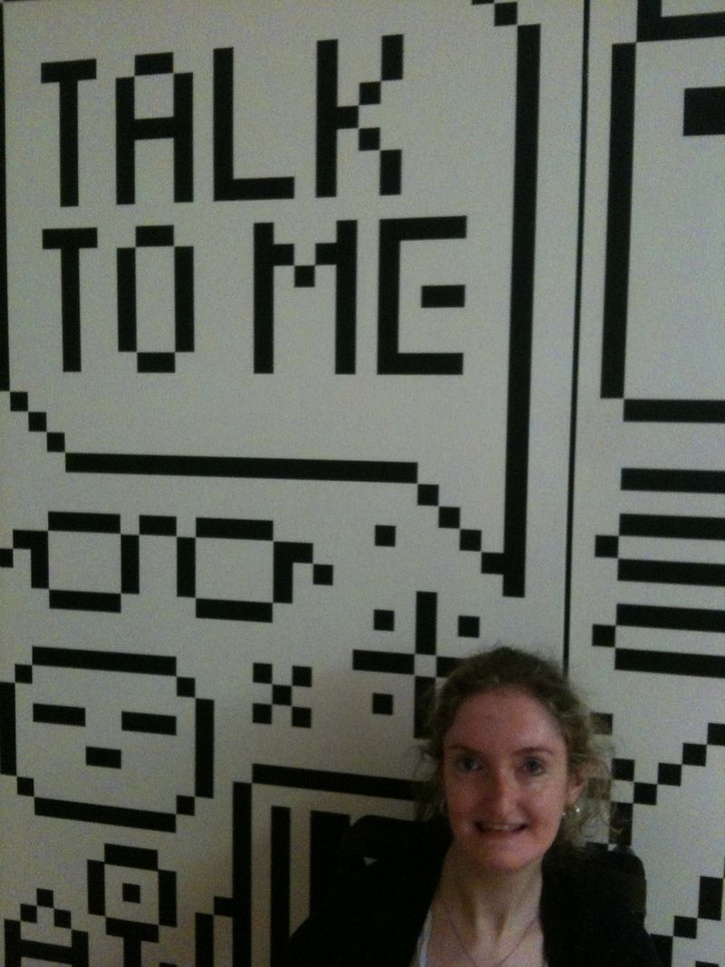 Sam at moma